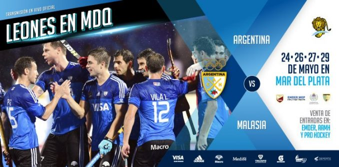 TEST MATCHES DE LOS LEONES EN MAR DEL PLATA