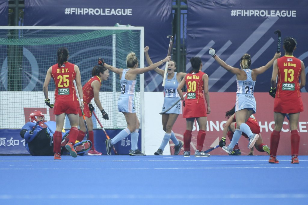 FIH Pro League: IMPORTANTE TRIUNFO DE LAS LEONAS VISITANDO A CHINA