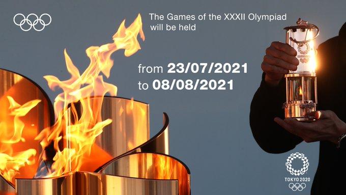 Juegos Olìmpicos: SE CONOCIERON LAS NUEVAS FECHAS PARA LOS JUEGOS OLÍMPICOS Y PARALÍMPICOS TOKIO 2020