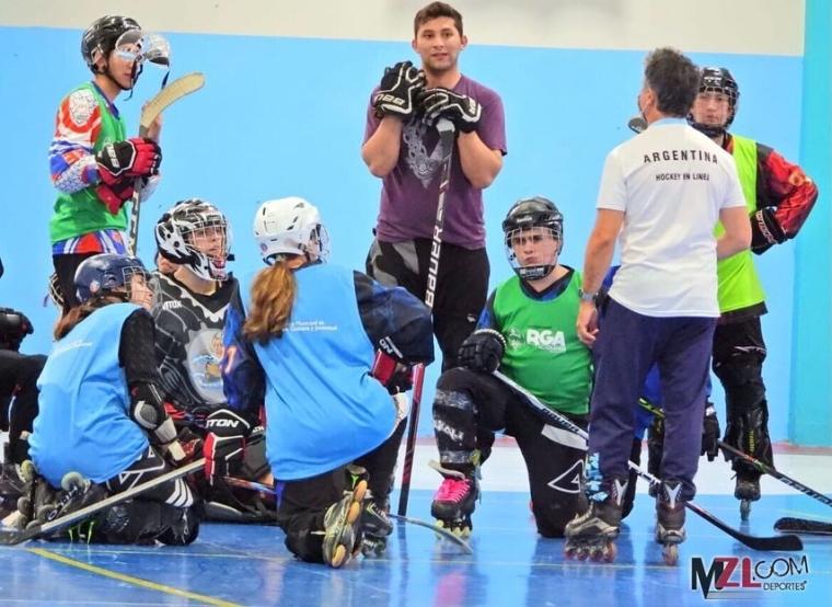 Hockey en Linea: VISITA DEL ENTRENADOR NACIONAL JULIO MERCERE